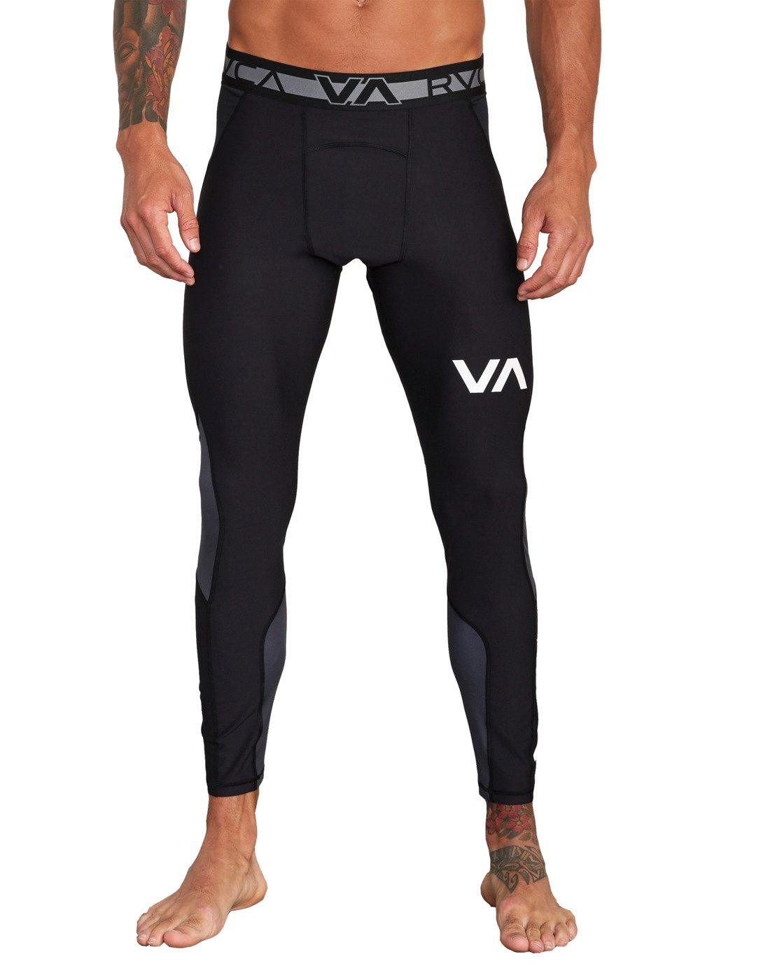 8 COMPRESSION PANT Black VR011RCP RVCA