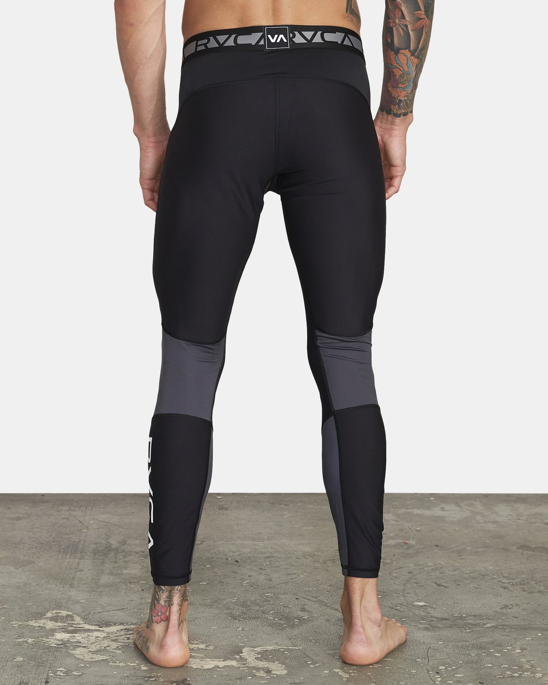 3 COMPRESSION PANT Black VR011RCP RVCA