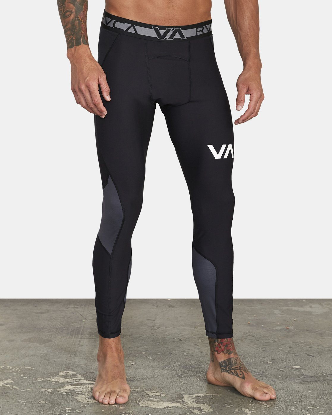 7 COMPRESSION PANT Black VR011RCP RVCA