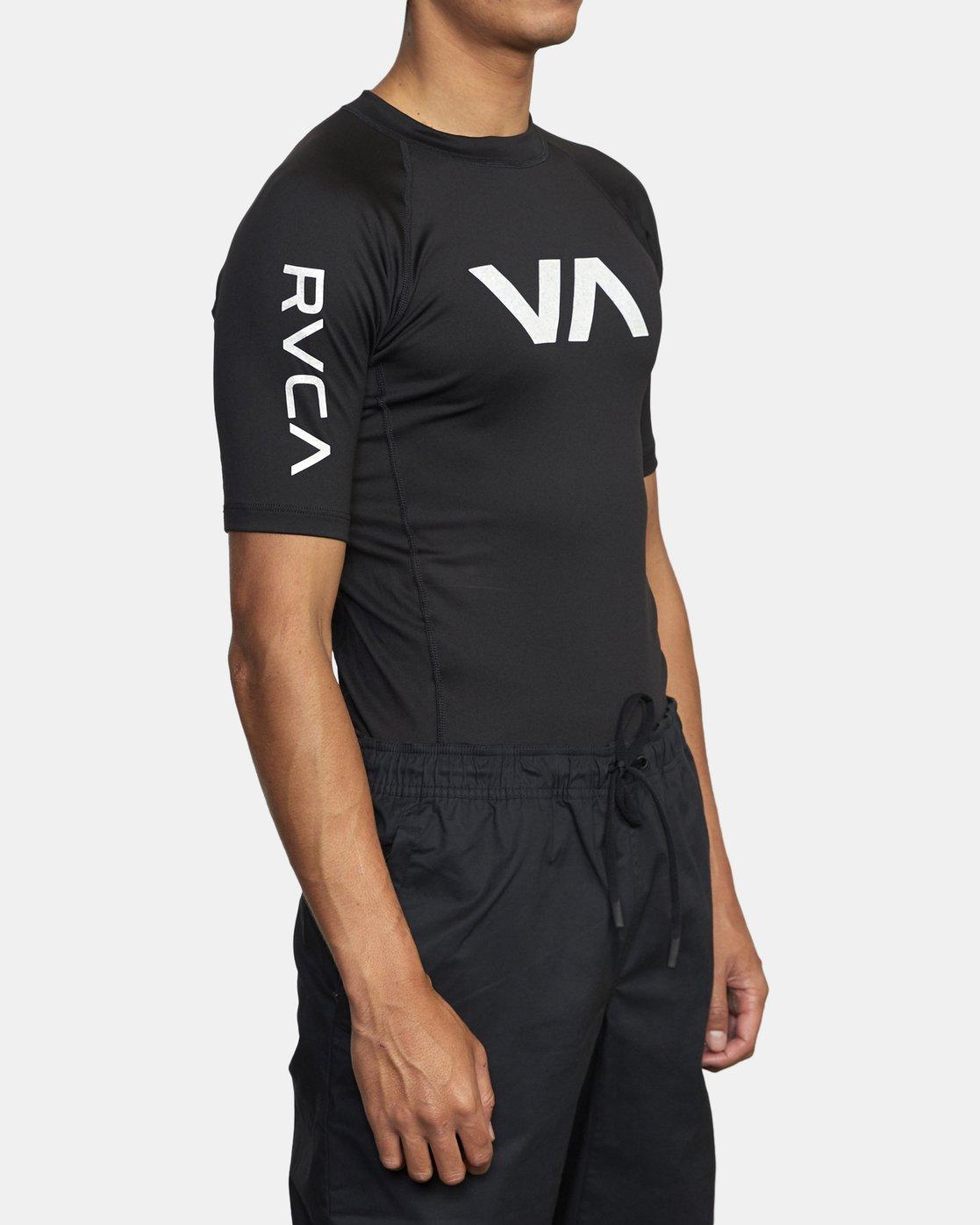 1 SPORT SS RASHGUARD Black VR011RSS RVCA