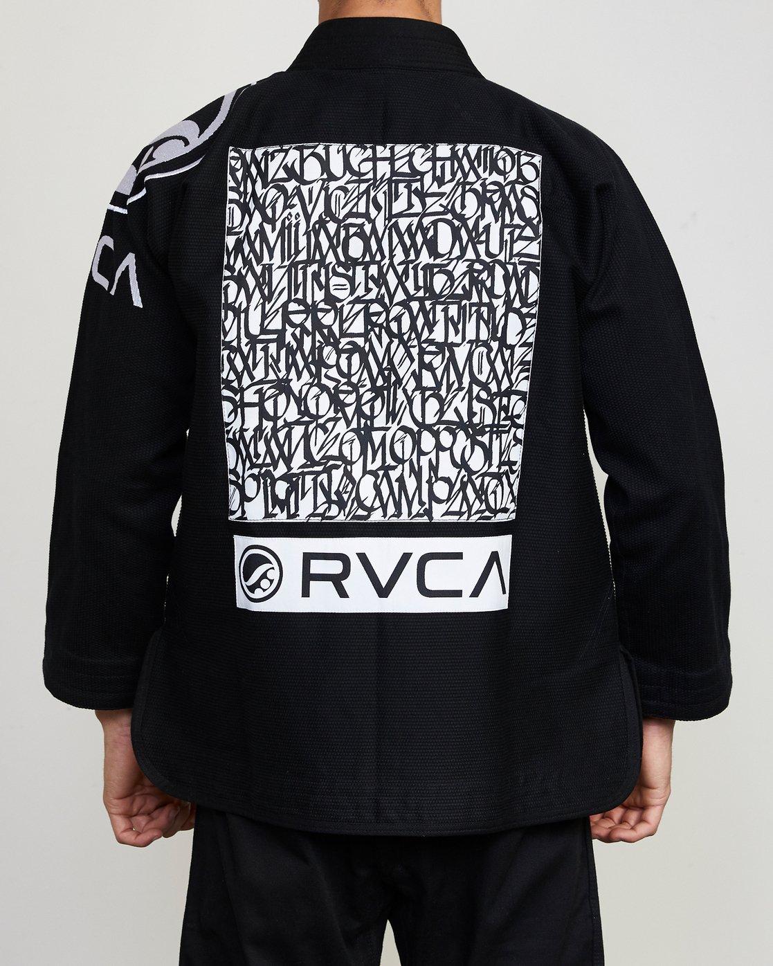 3 RVCA Shoyoroll GI Black VZMC1RGI RVCA