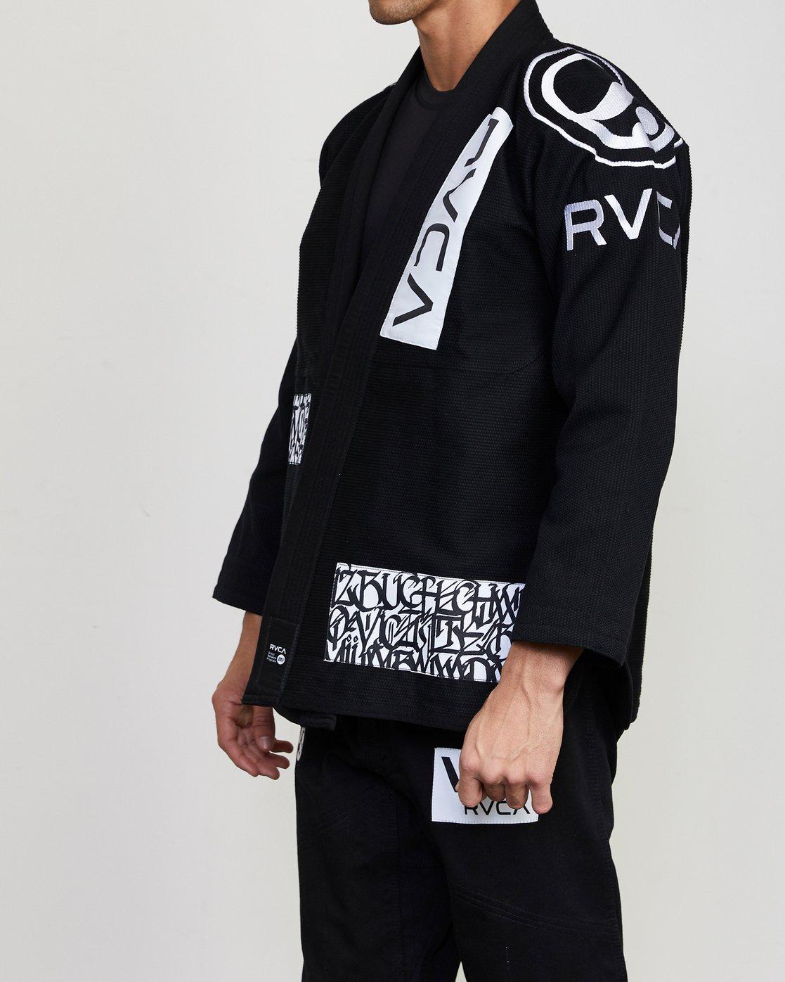 4 RVCA Shoyoroll GI Black VZMC1RGI RVCA