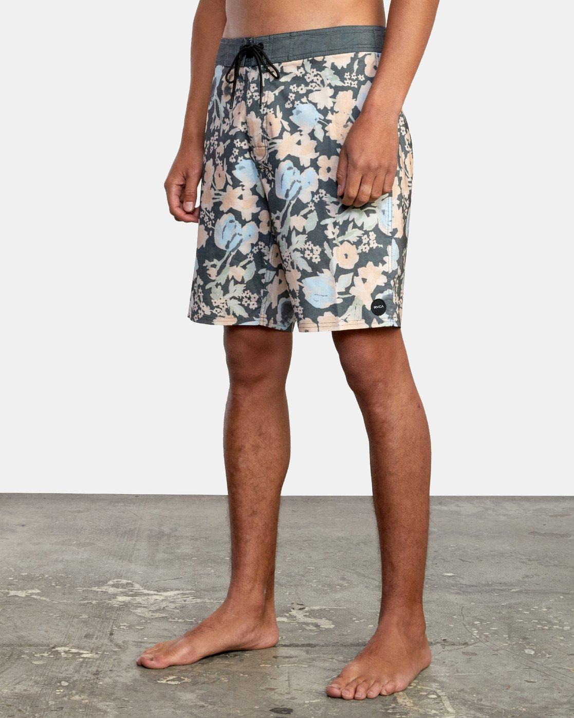 "4 Pressure Drop 18"" - Board Shorts for Men Black W1BSRARVP1 RVCA"