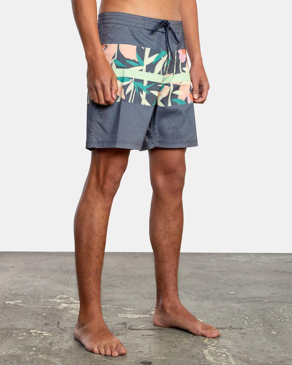 "5 Westport Print 17"" - Board Shorts for Men  W1BSRHRVP1 RVCA"