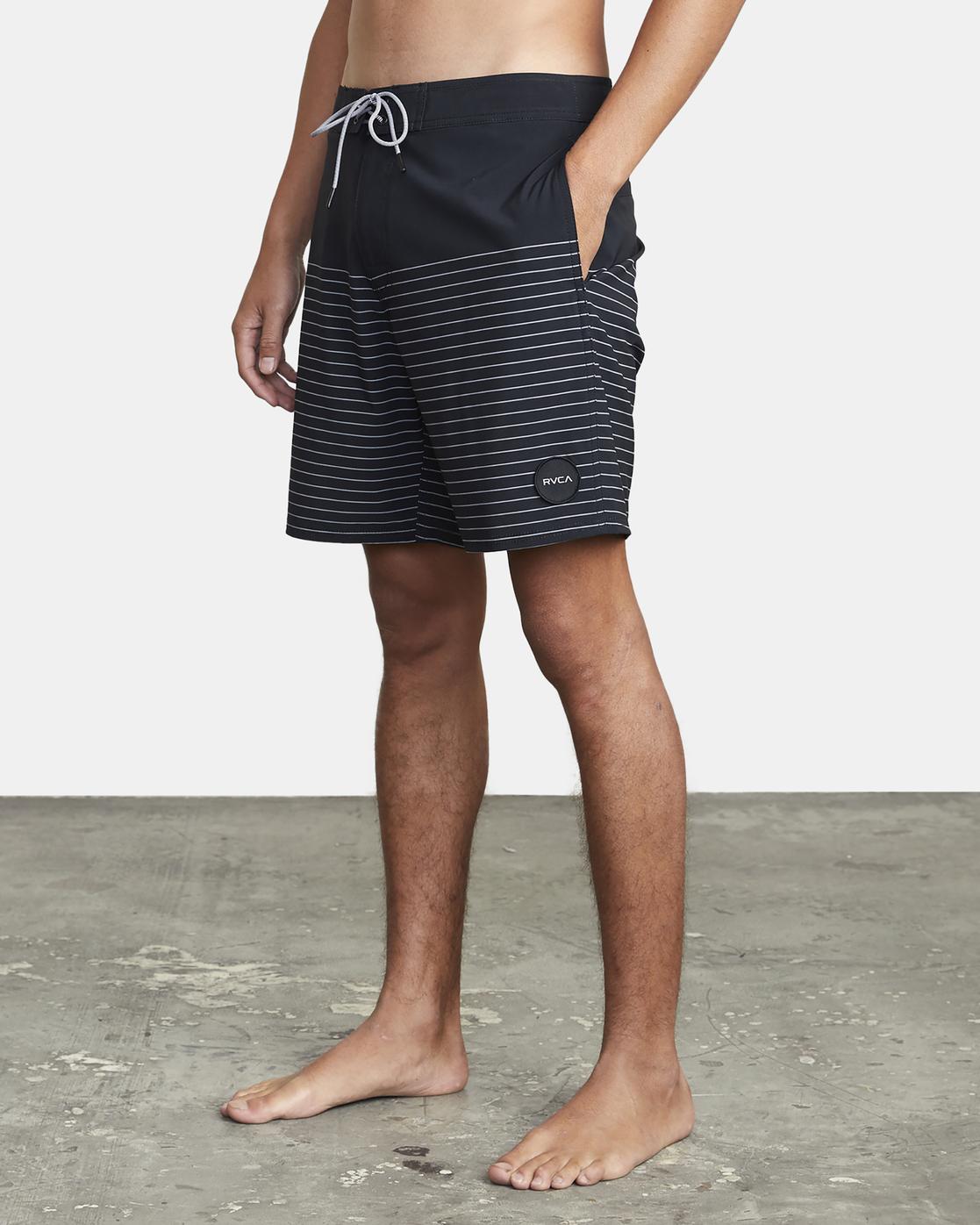 "10 Curren 18"" - Boardshorts for Men Black W1BSRKRVP1 RVCA"