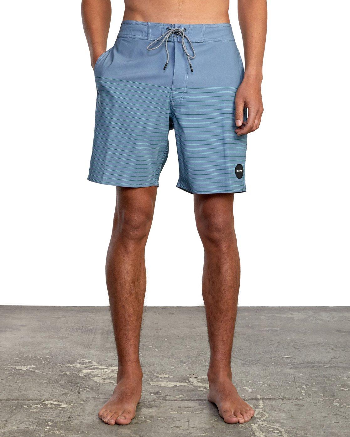 "1 Curren 18"" - Boardshorts for Men Grey W1BSRKRVP1 RVCA"