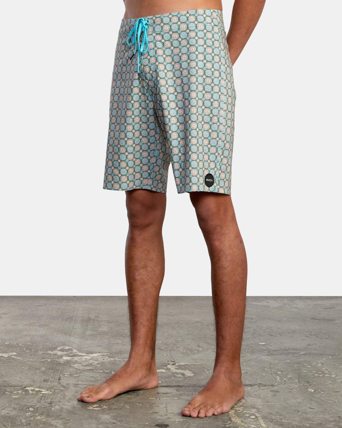 "4 Vanner 19"" - Board Shorts for Men Grey W1BSRSRVP1 RVCA"