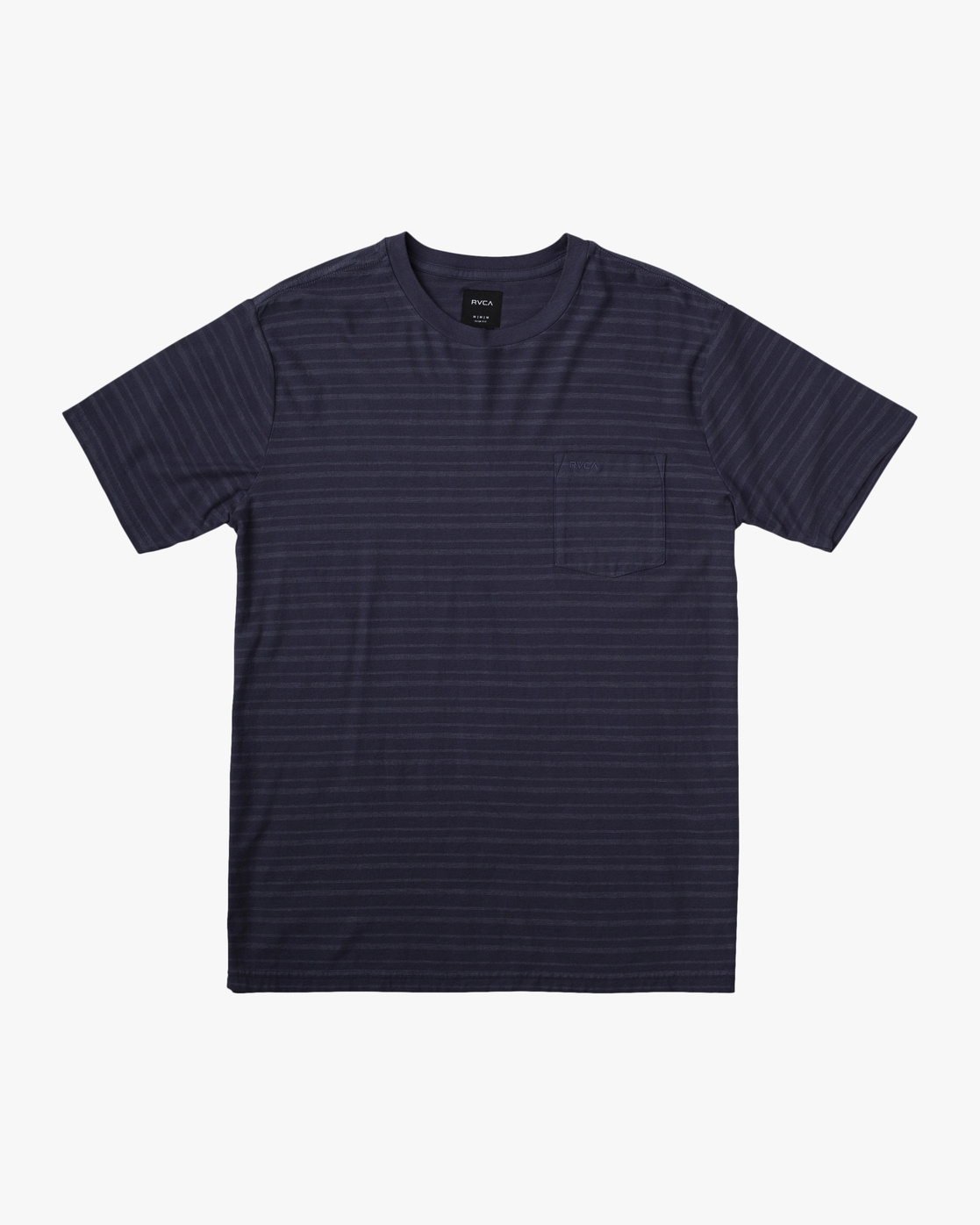 0 Texture Stripe - T-Shirt for Men  W1KTRDRVP1 RVCA