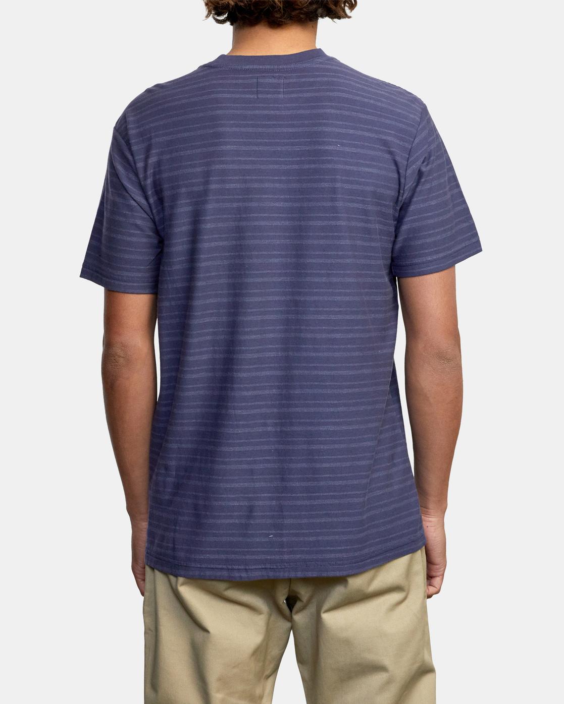 2 Texture Stripe - T-Shirt for Men  W1KTRDRVP1 RVCA