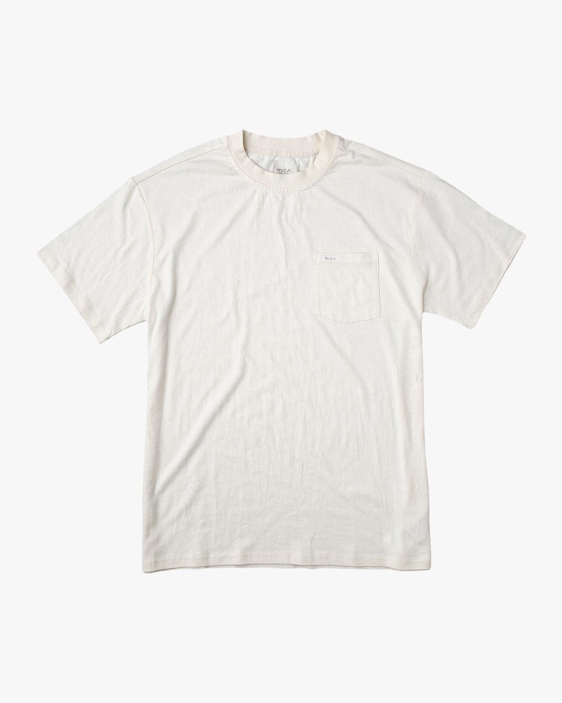 0 Hemp Neutral - T-Shirt Beige W1KTRHRVP1 RVCA