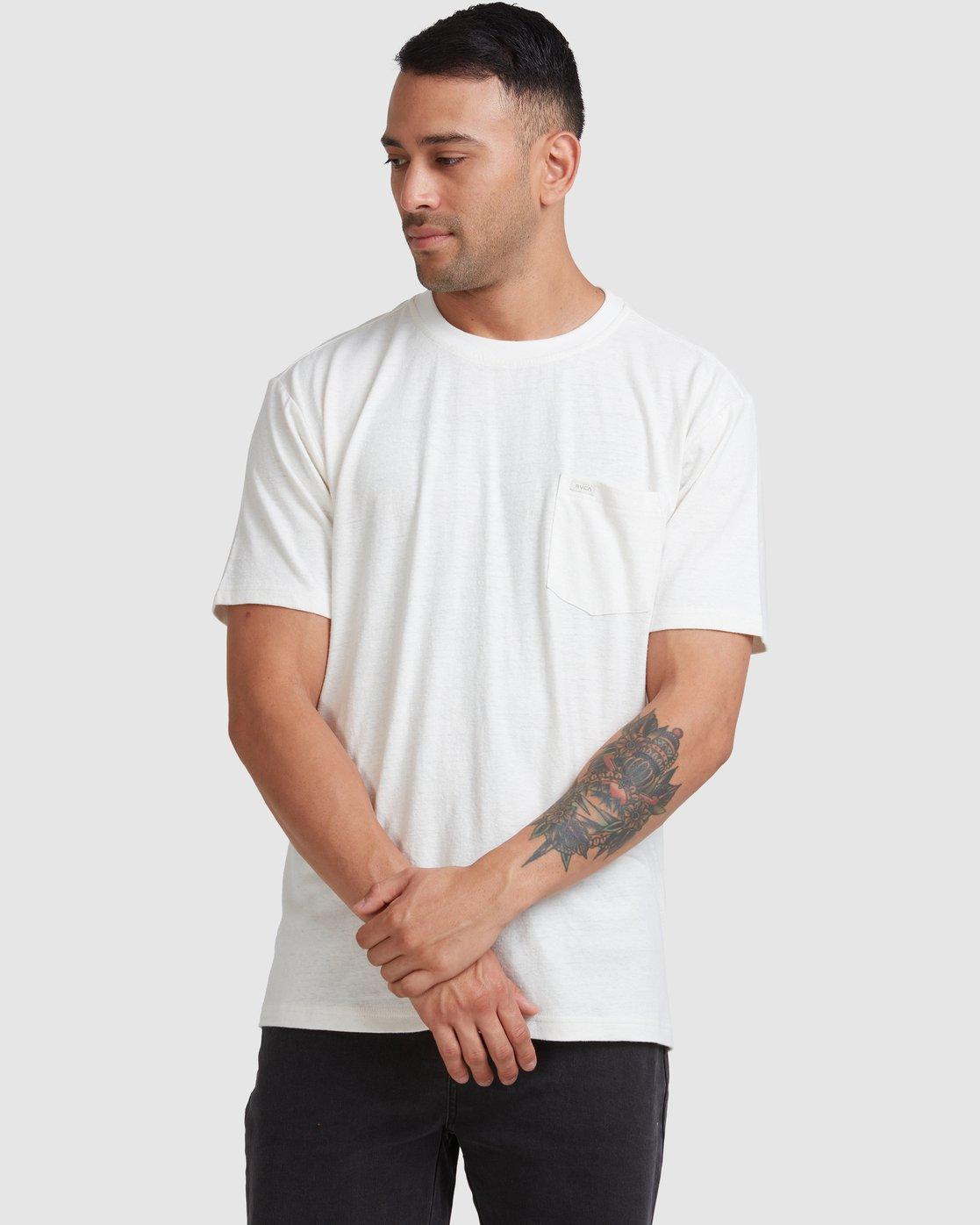 1 Hemp Neutral - T-Shirt Beige W1KTRHRVP1 RVCA