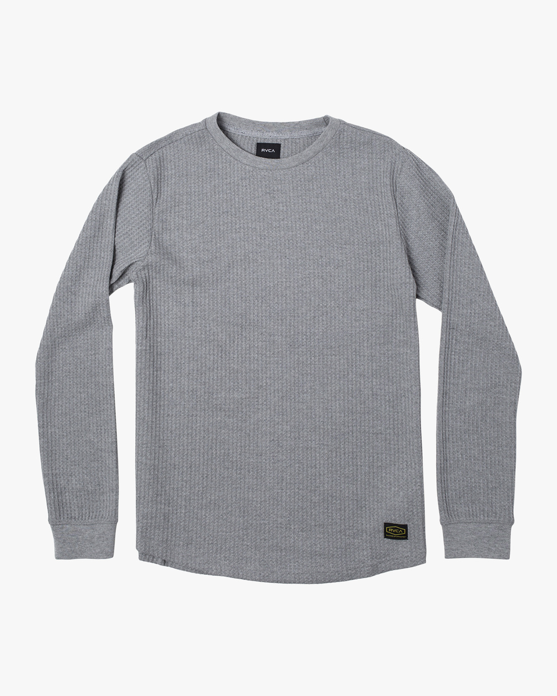 0 Recession Collection Day Shift - Long Sleeve Thermal Top for Men Grey W1KTRKRVP1 RVCA