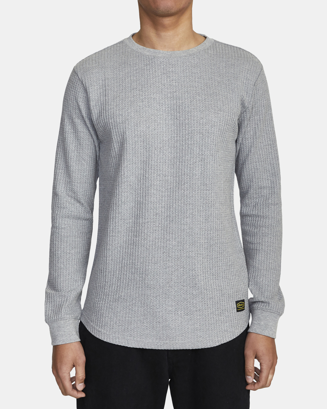 5 Recession Collection Day Shift - Long Sleeve Thermal Top for Men Grey W1KTRKRVP1 RVCA
