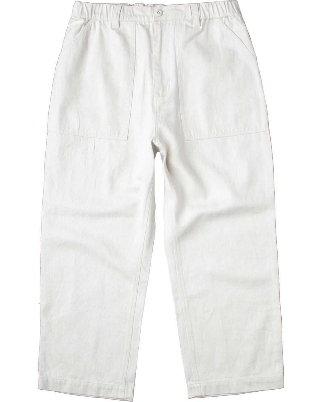 0 Neutral Hemp - Relaxed Fit Trousers Silver W1PTRDRVP1 RVCA