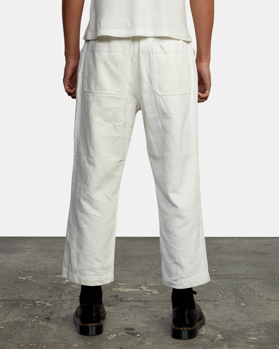2 Neutral Hemp - Relaxed Fit Trousers Silver W1PTRDRVP1 RVCA
