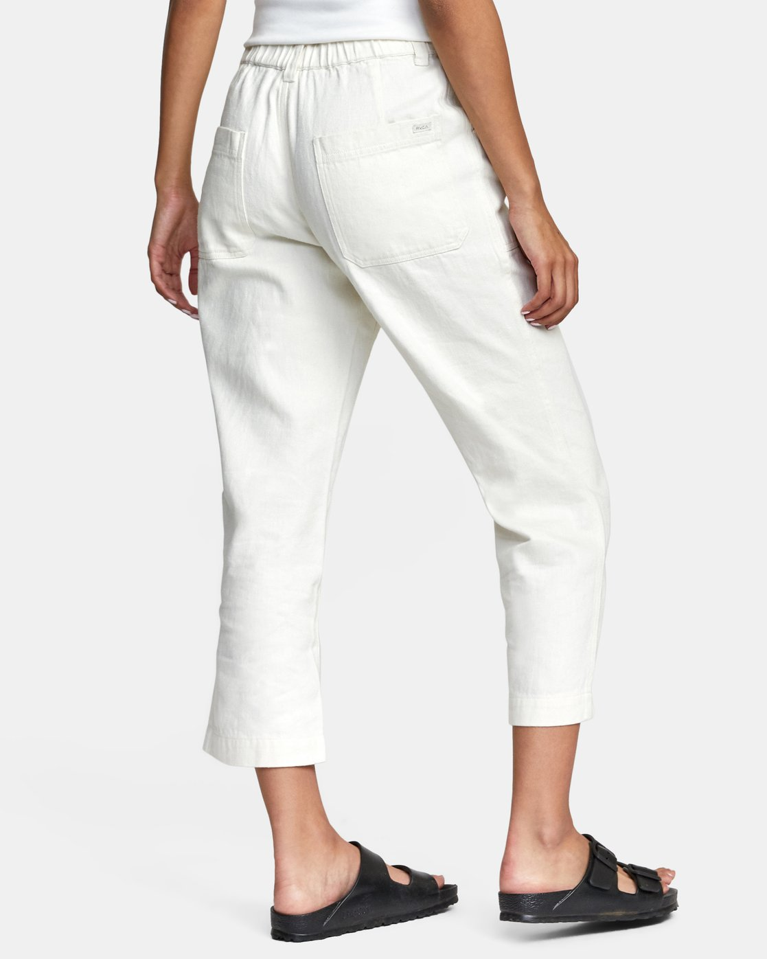 10 Neutral Hemp - Relaxed Fit Trousers Silver W1PTRDRVP1 RVCA