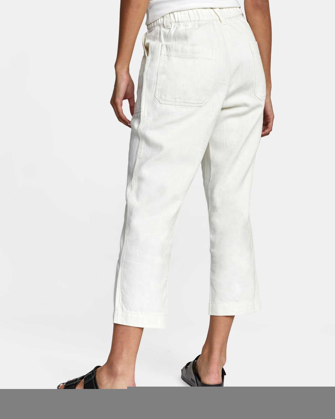 13 Neutral Hemp - Relaxed Fit Trousers Silver W1PTRDRVP1 RVCA