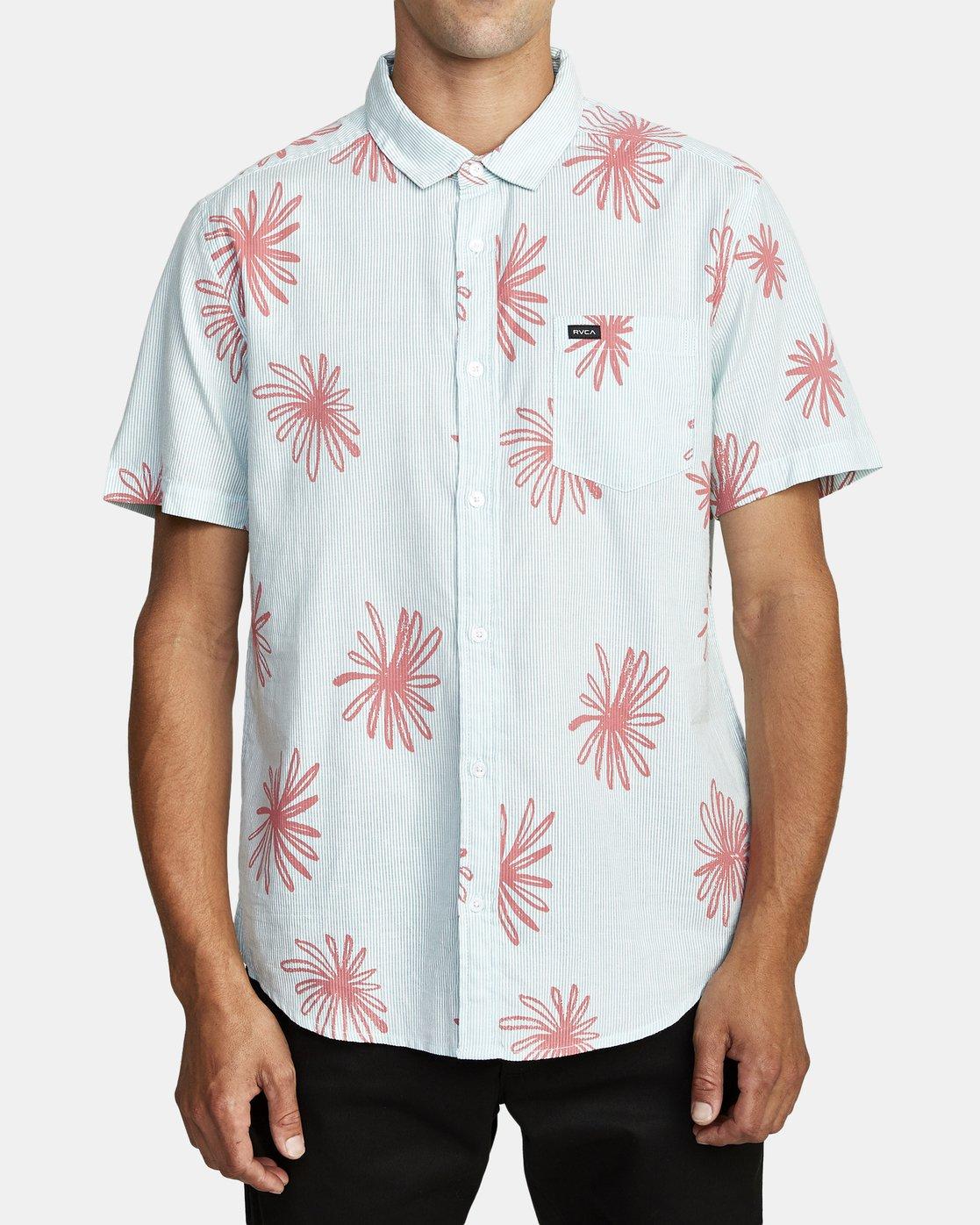 4 Whirls - Short Sleeve Shirt for Men Pink W1SHIARVP1 RVCA