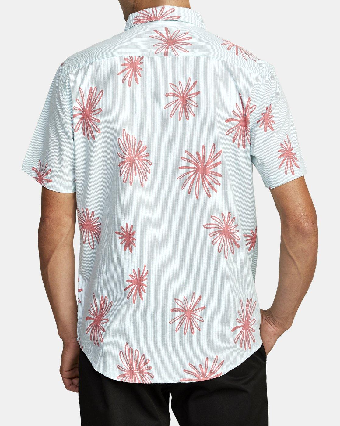 1 Whirls - Short Sleeve Shirt for Men Pink W1SHIARVP1 RVCA
