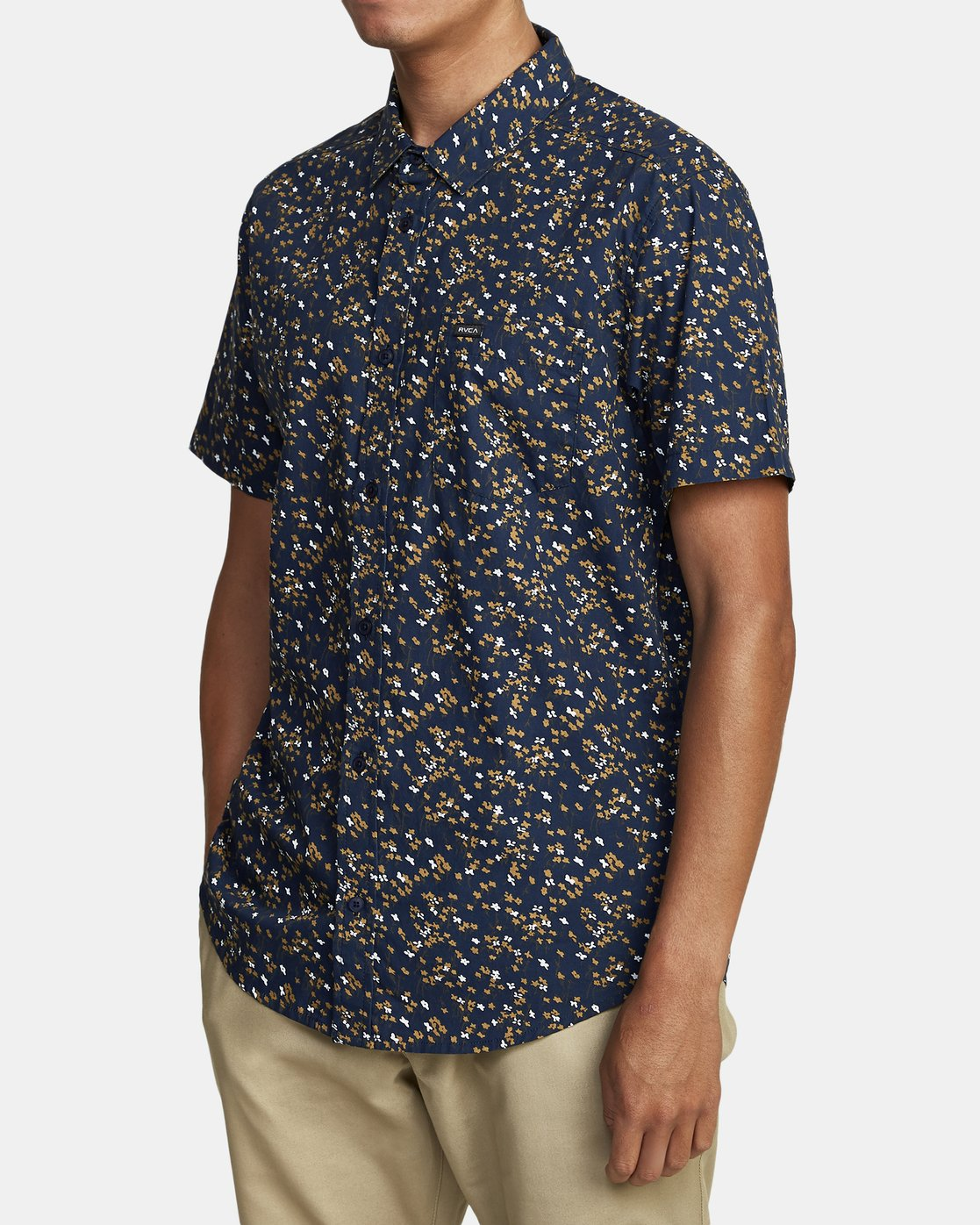 3 Eternal - Short Sleeve Shirt for Men  W1SHIERVP1 RVCA