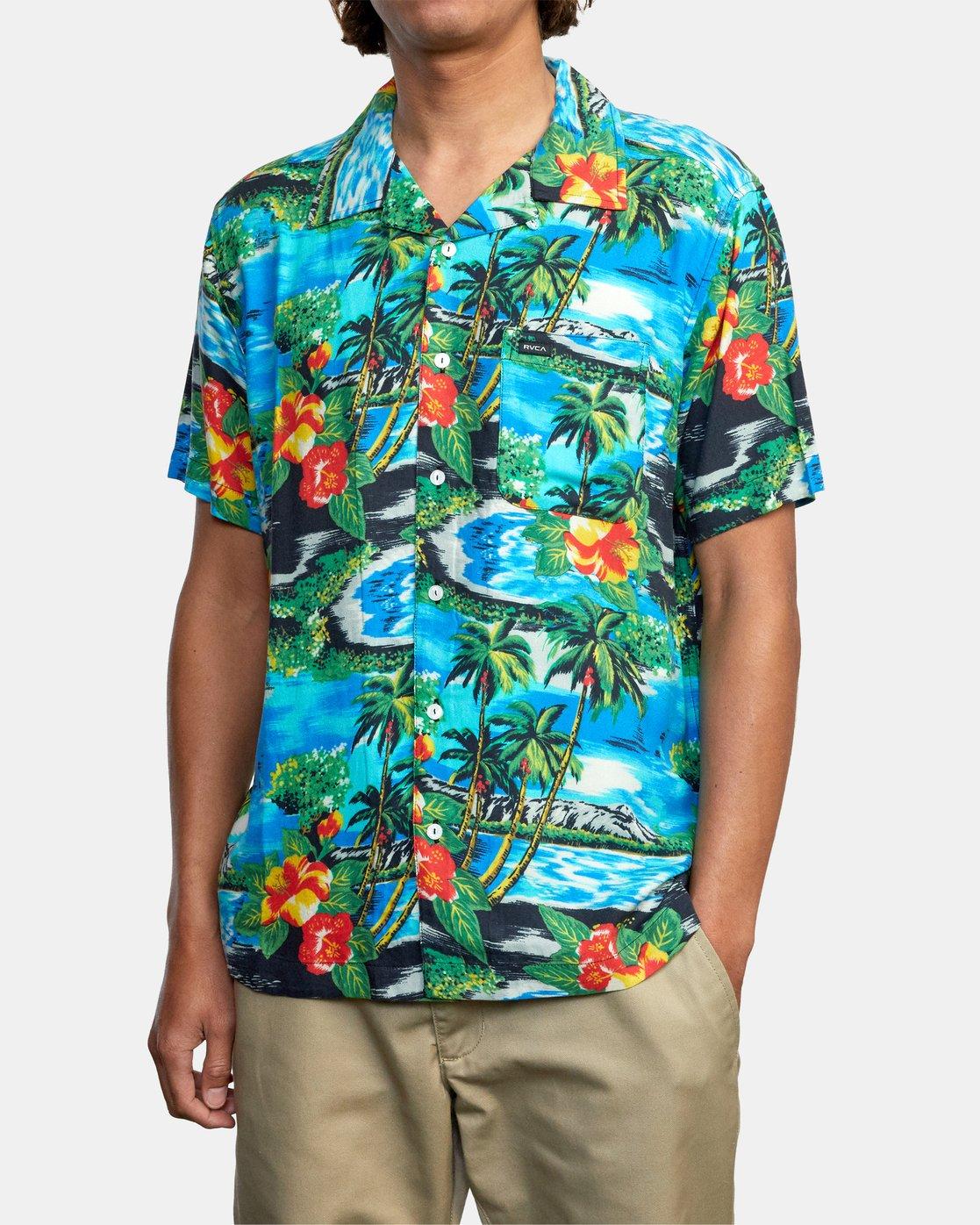 1 Kawela - Short Sleeve Shirt for Men  W1SHRCRVP1 RVCA