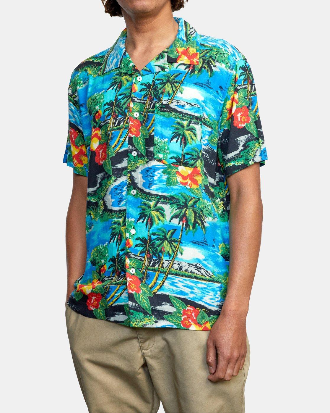 4 Kawela - Short Sleeve Shirt for Men  W1SHRCRVP1 RVCA