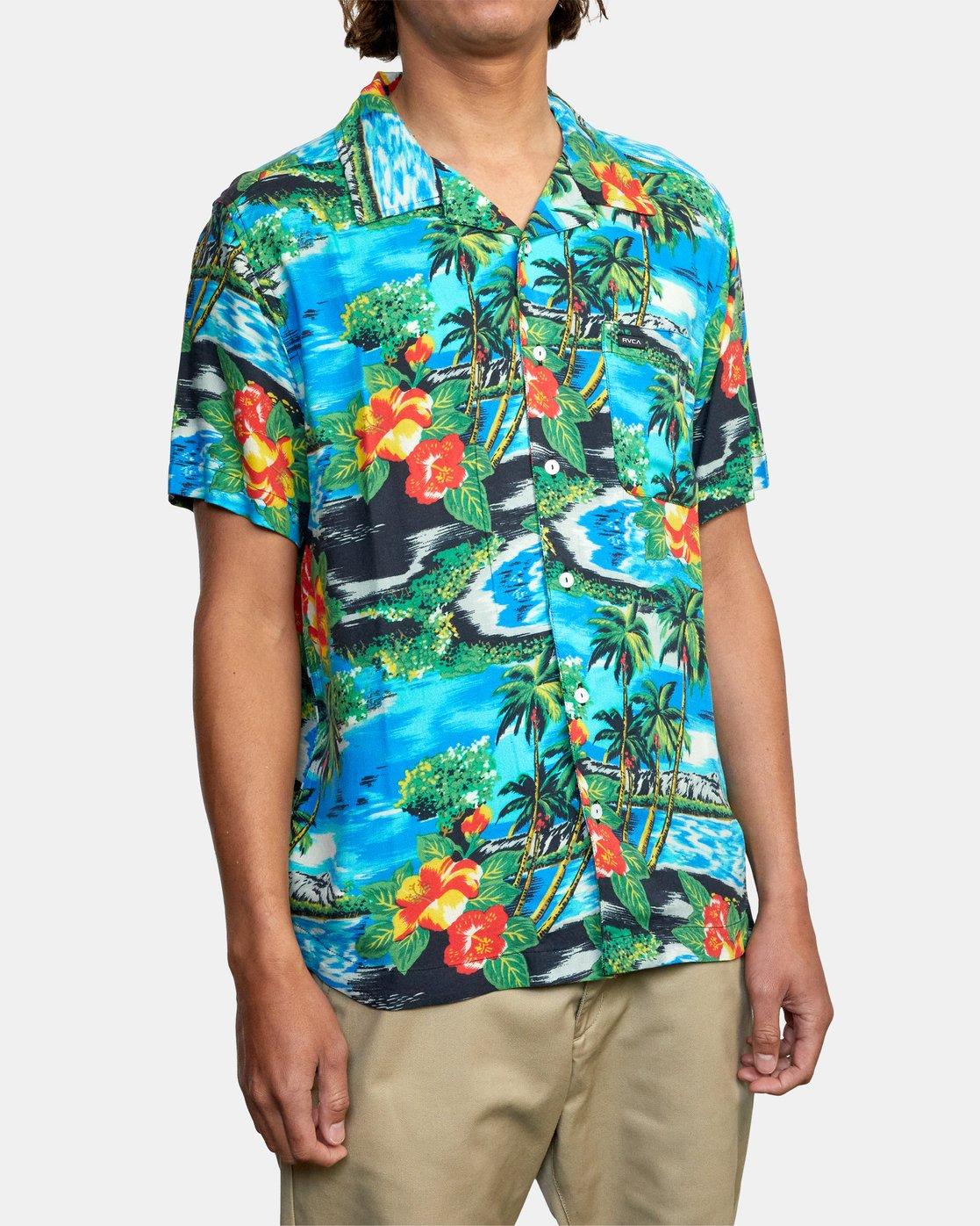 5 Kawela - Short Sleeve Shirt for Men  W1SHRCRVP1 RVCA
