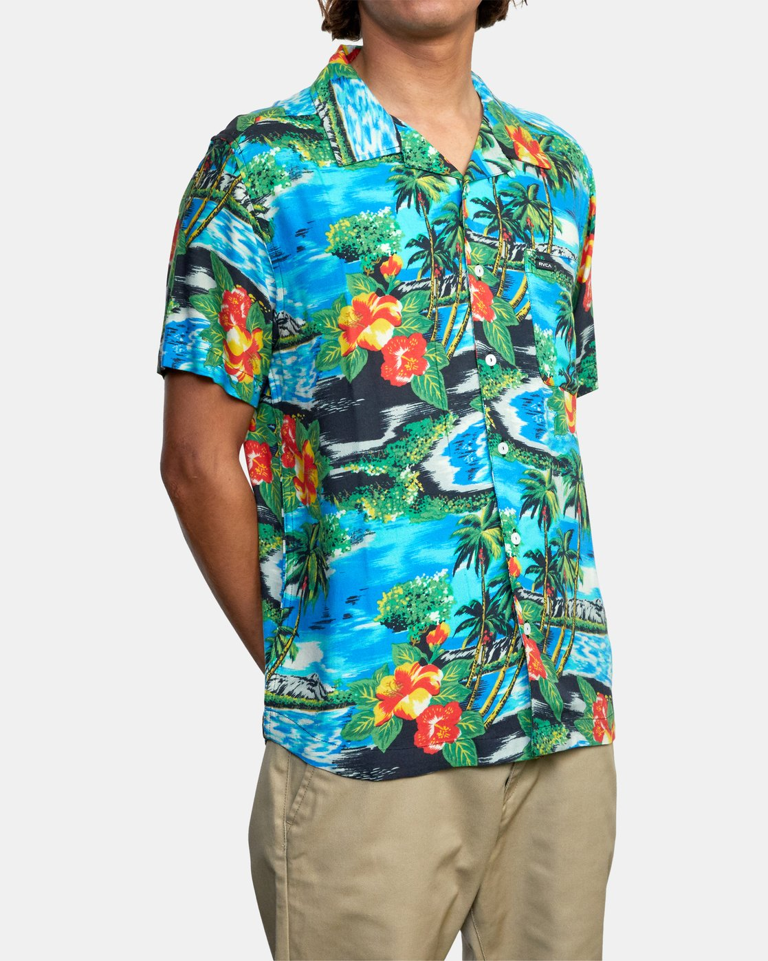 6 Kawela - Short Sleeve Shirt for Men  W1SHRCRVP1 RVCA
