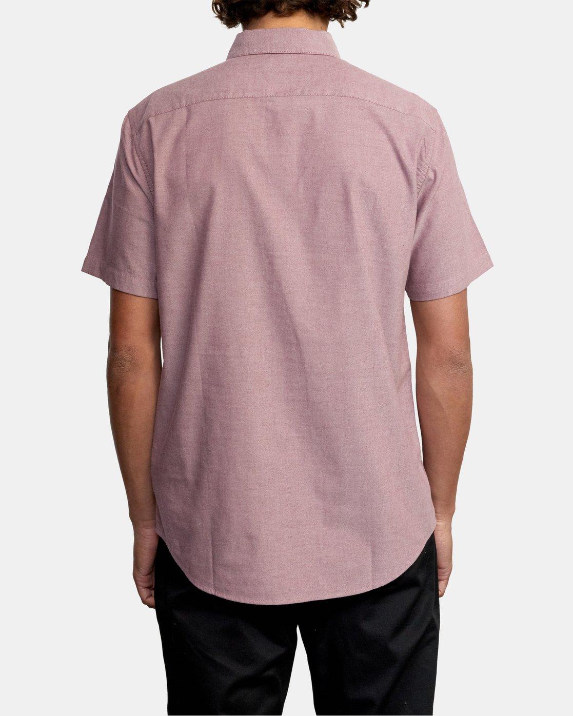 2 That'll Do - Short Sleeve Shirt for Men Red W1SHRHRVP1 RVCA