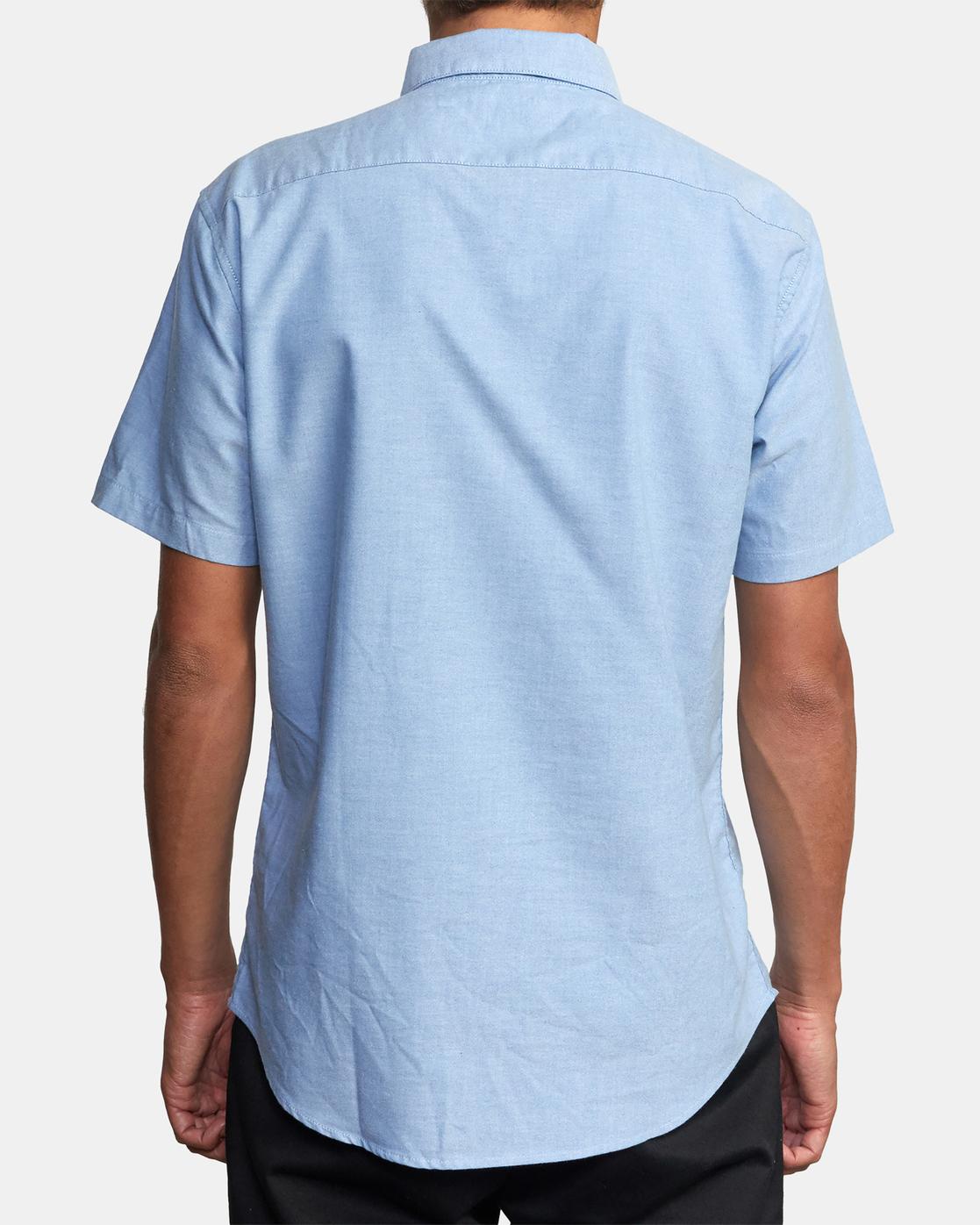 6 That'll Do - Short Sleeve Shirt for Men Blue W1SHRHRVP1 RVCA