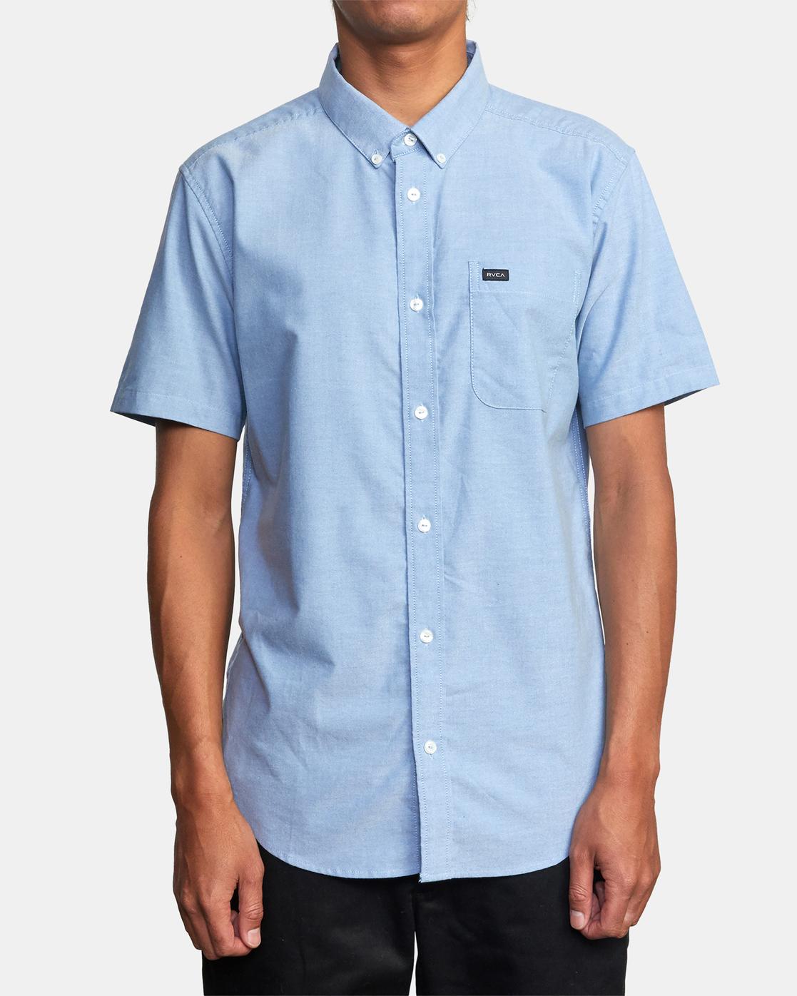 5 That'll Do - Short Sleeve Shirt for Men Blue W1SHRHRVP1 RVCA