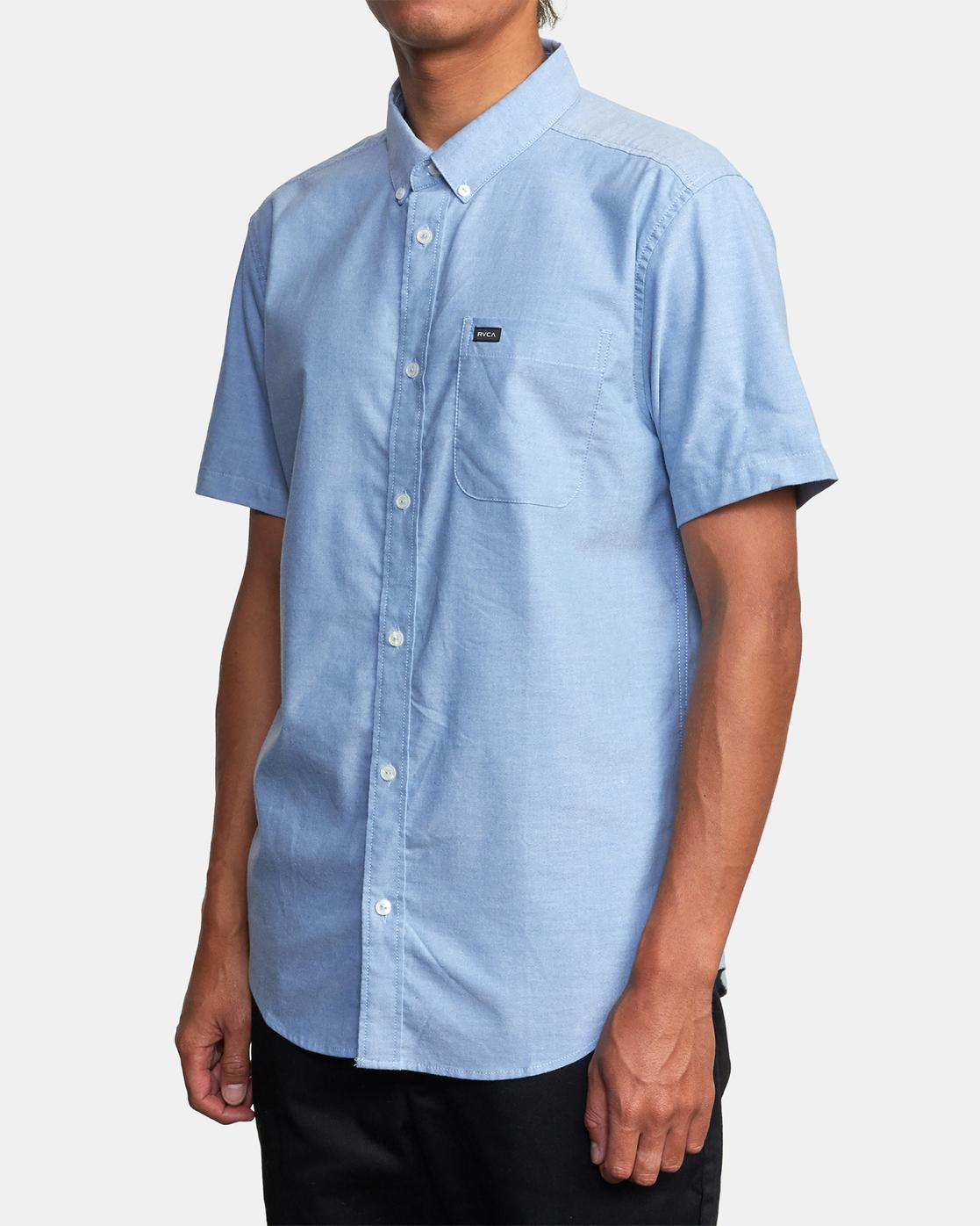 7 That'll Do - Short Sleeve Shirt for Men Blue W1SHRHRVP1 RVCA
