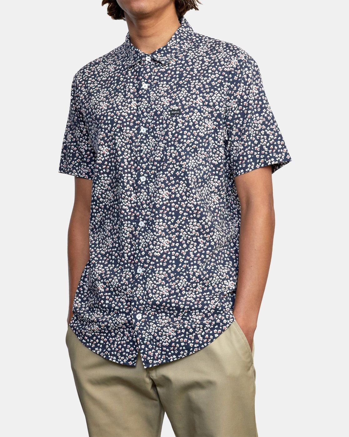 5 Bang On - Short Sleeve Shirt for Men  W1SHRQRVP1 RVCA