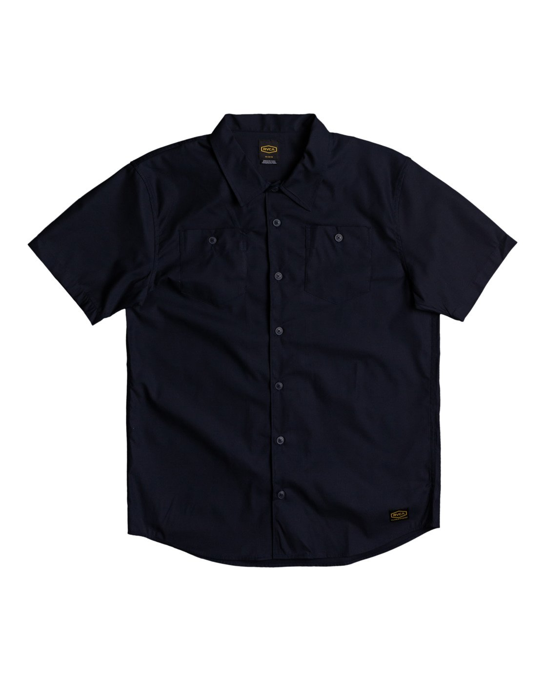 0 Recession Collection Day Shift - Short Sleeve Shirt for Men Blue W1SHRSRVP1 RVCA