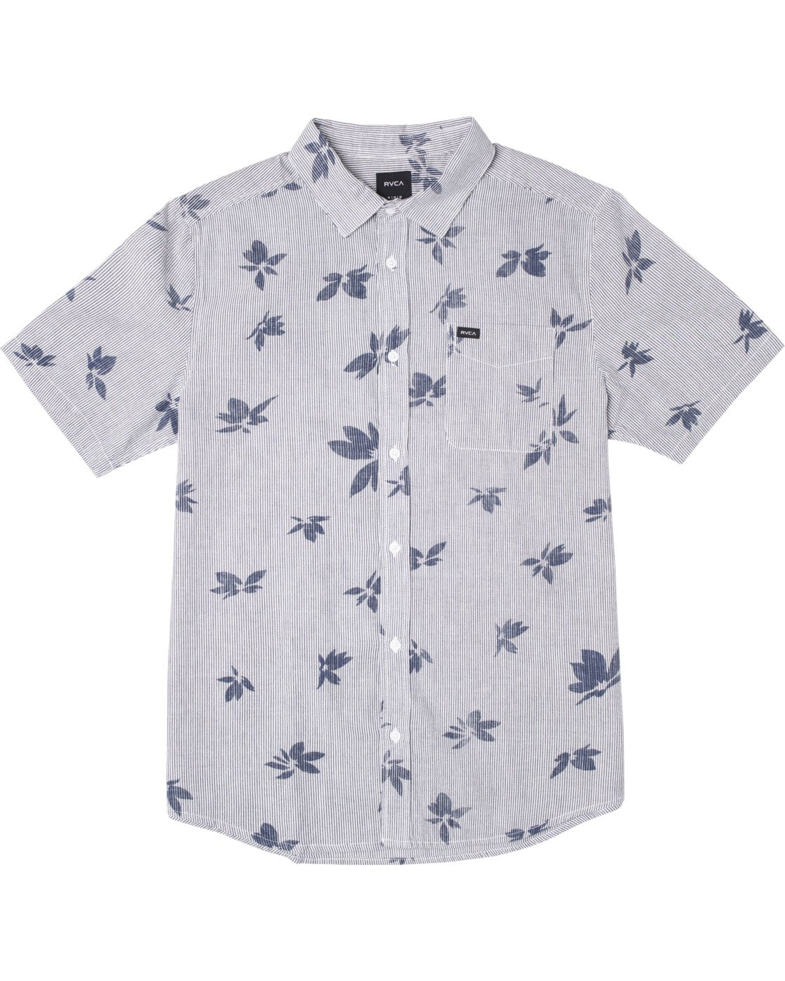 0 Endless Seersucker - Short Sleeve Shirt for Men  W1SHSFRVP1 RVCA