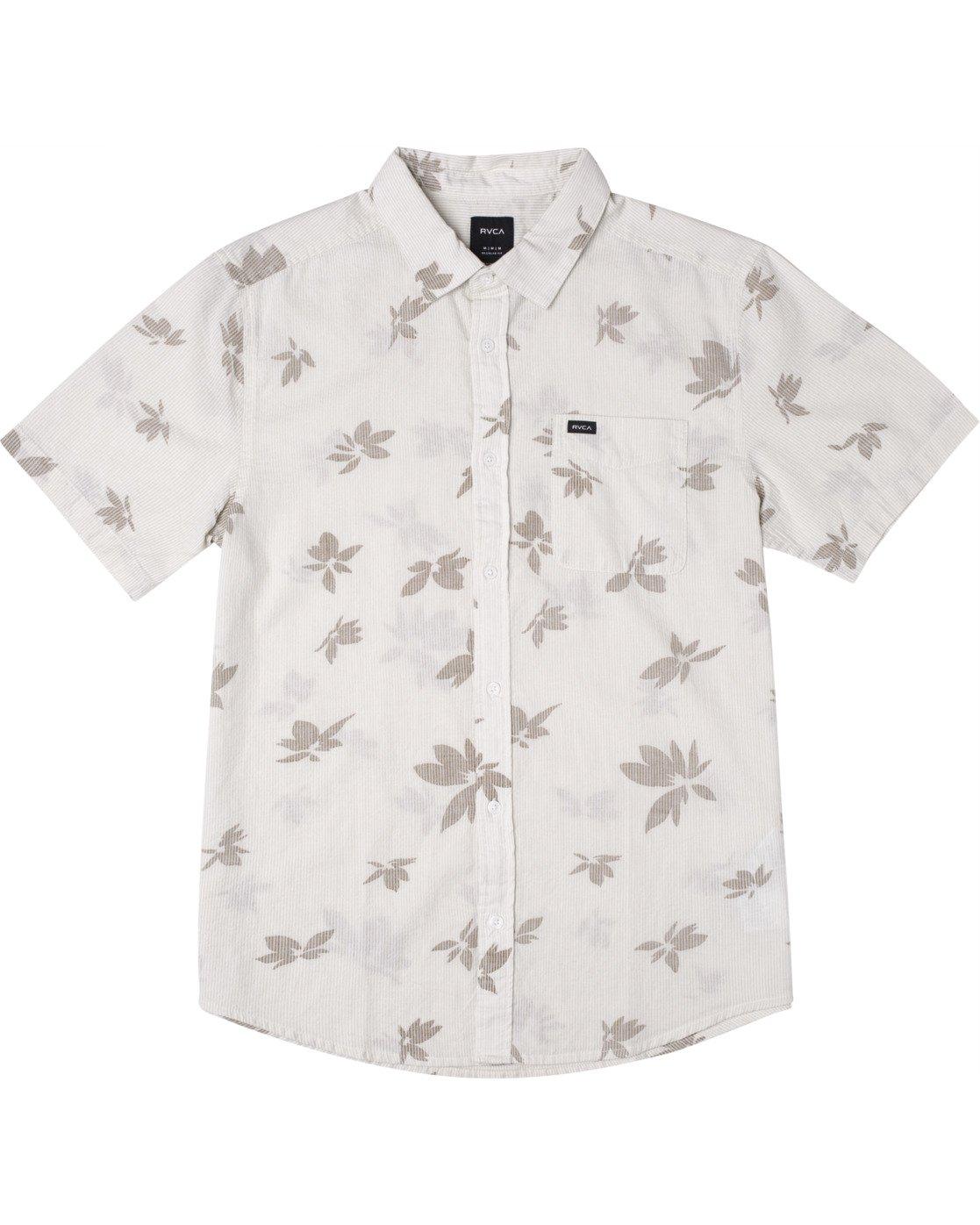0 Endless Seersucker - Short Sleeve Shirt for Men White W1SHSFRVP1 RVCA