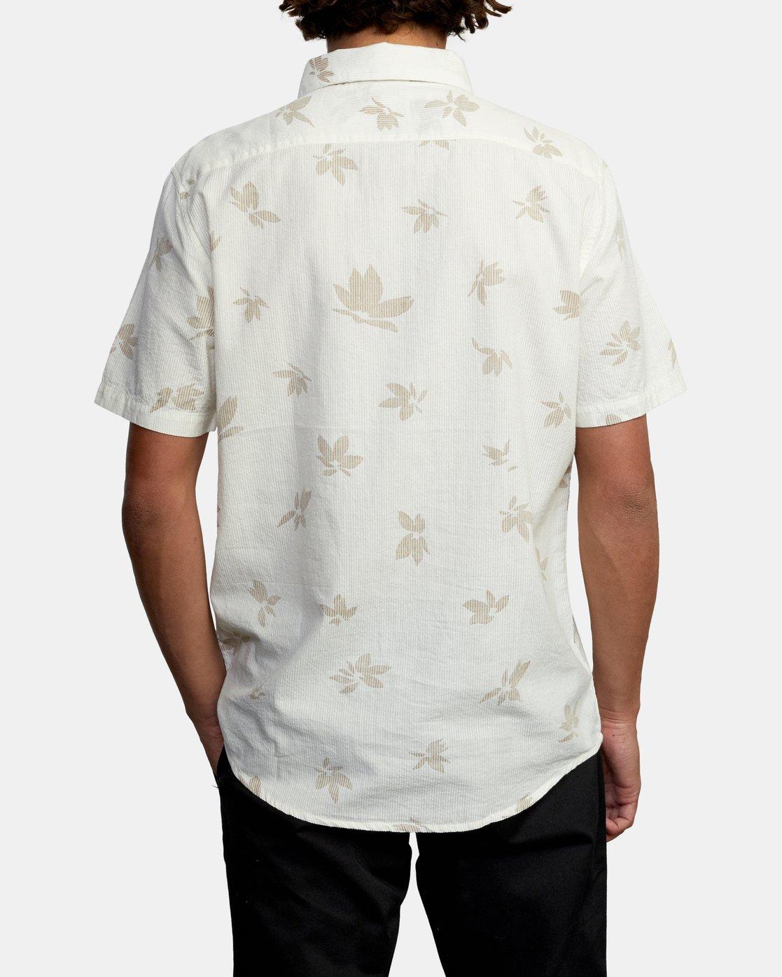 2 Endless Seersucker - Short Sleeve Shirt for Men White W1SHSFRVP1 RVCA