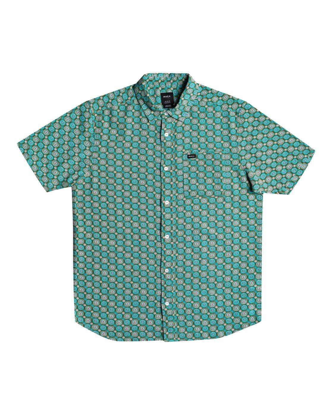 0 Vanner Gauze - Short Sleeve Shirt for Men  W1SHSIRVP1 RVCA