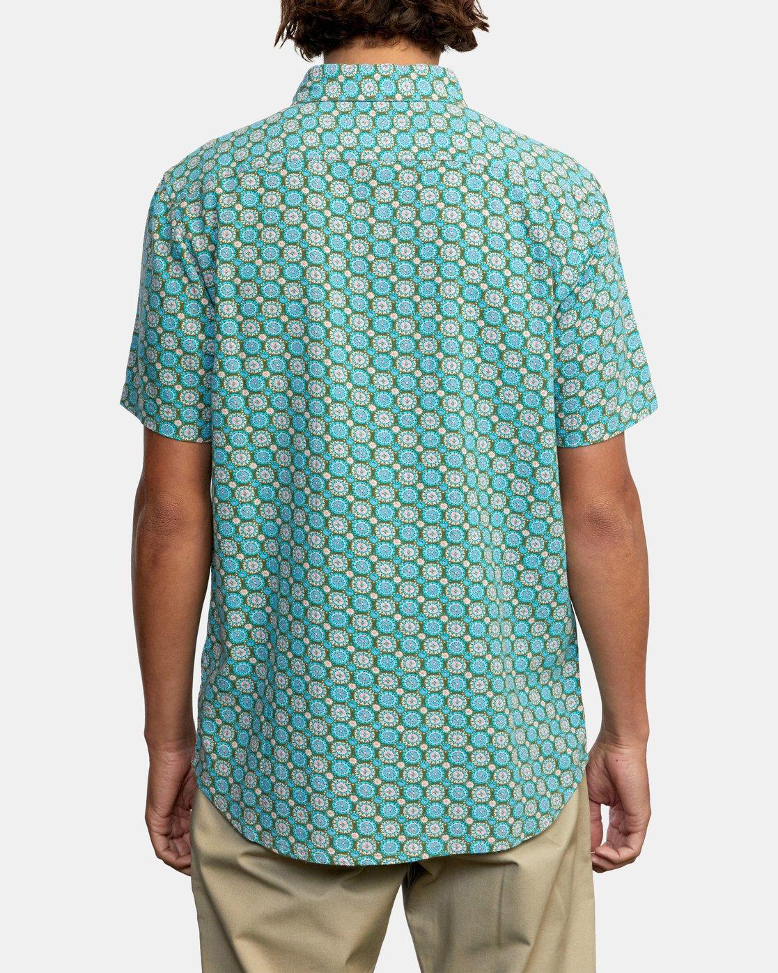 3 Vanner Gauze - Short Sleeve Shirt for Men  W1SHSIRVP1 RVCA