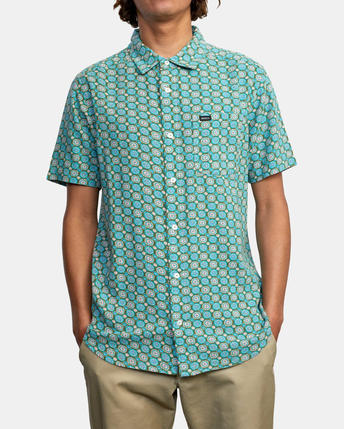 2 Vanner Gauze - Short Sleeve Shirt for Men  W1SHSIRVP1 RVCA