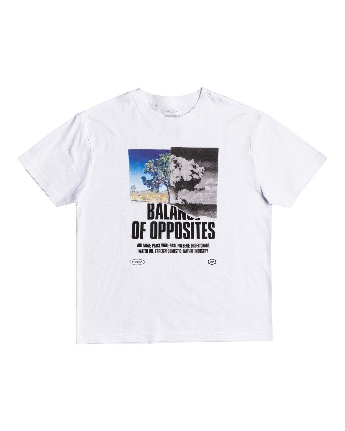 0 Split Truth - T-Shirt for Men White W1SSRARVP1 RVCA