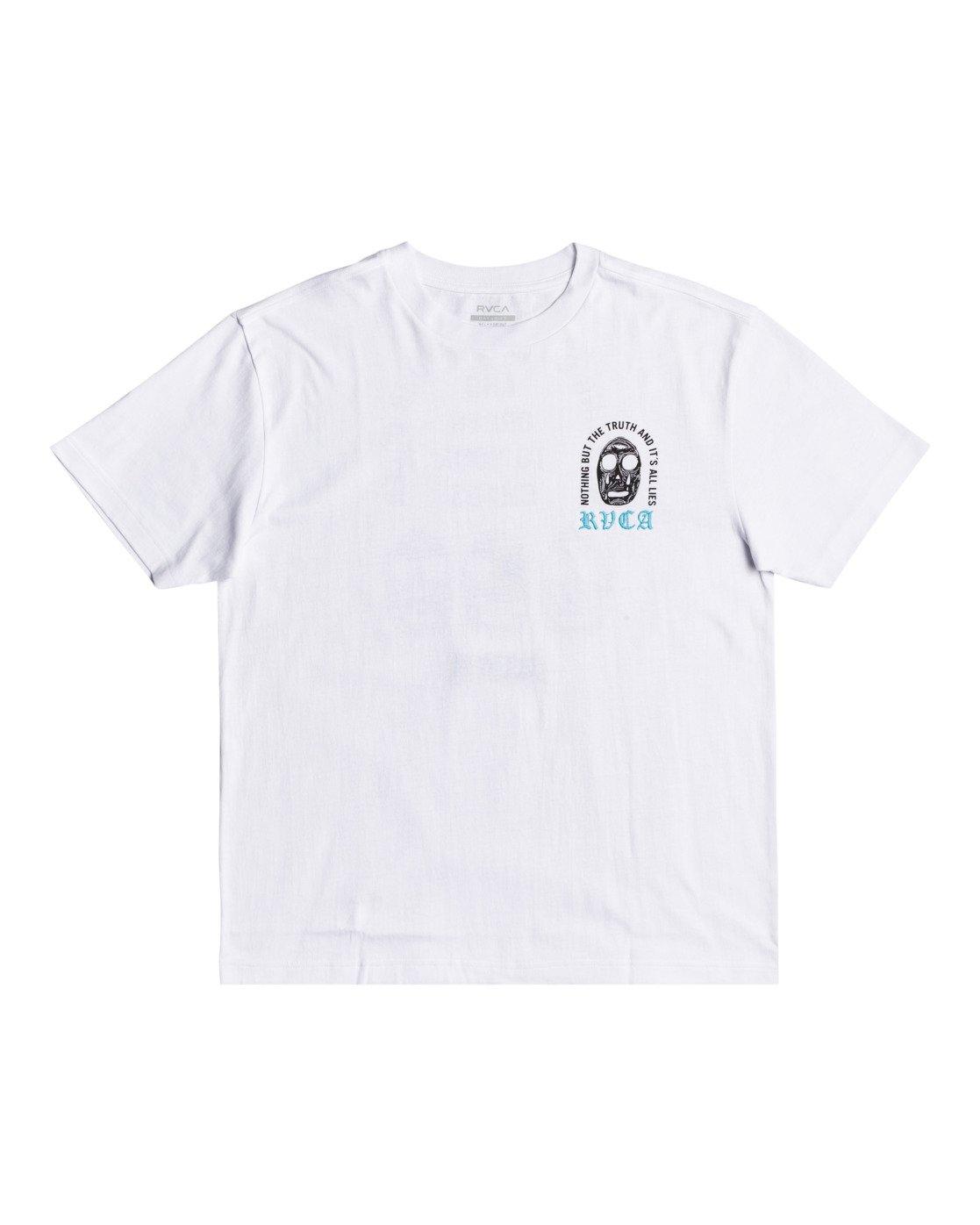 1 Superblast Chaos - T-shirt pour Homme Blanc W1SSRERVP1 RVCA