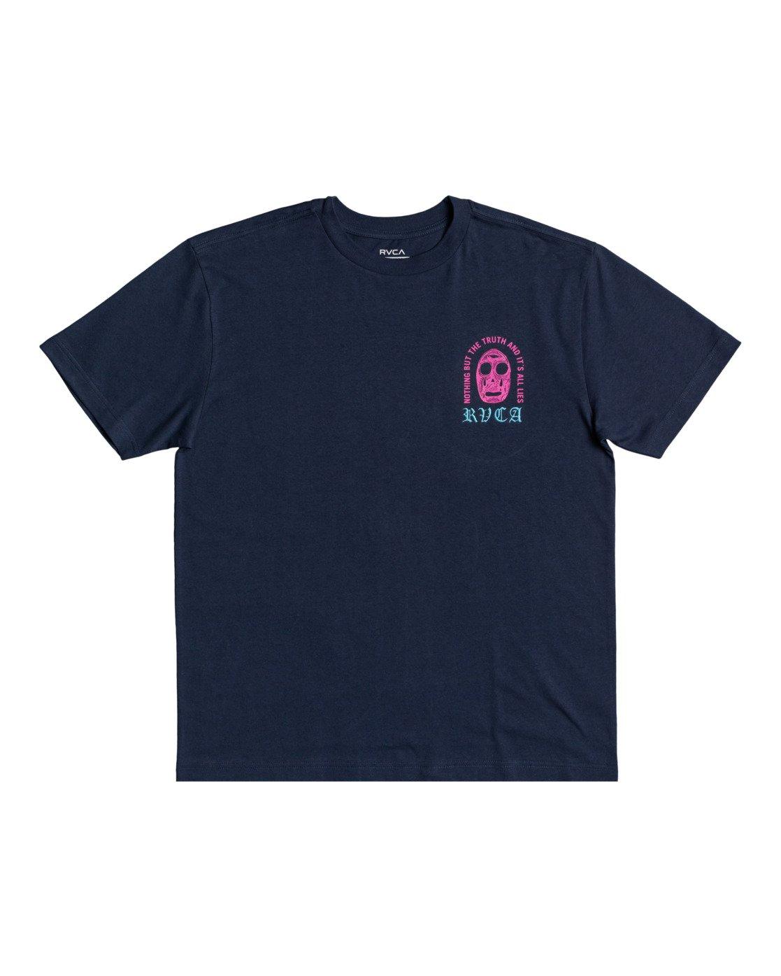 1 Superblast Chaos - T-shirt pour Homme  W1SSRERVP1 RVCA