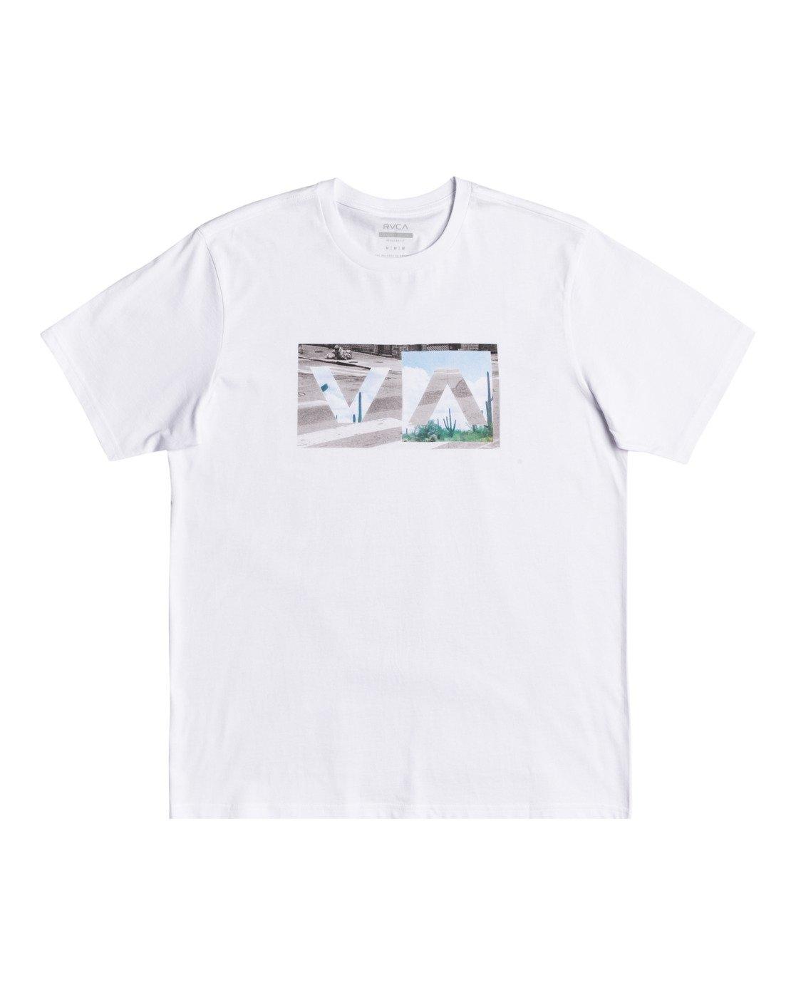 0 Balance Box - T-shirt pour Homme Blanc W1SSRHRVP1 RVCA