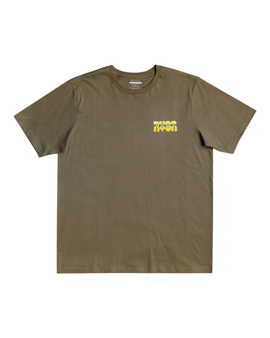 1 Martin Ander Applerobot - T-shirt pour Homme Vert W1SSRLRVP1 RVCA