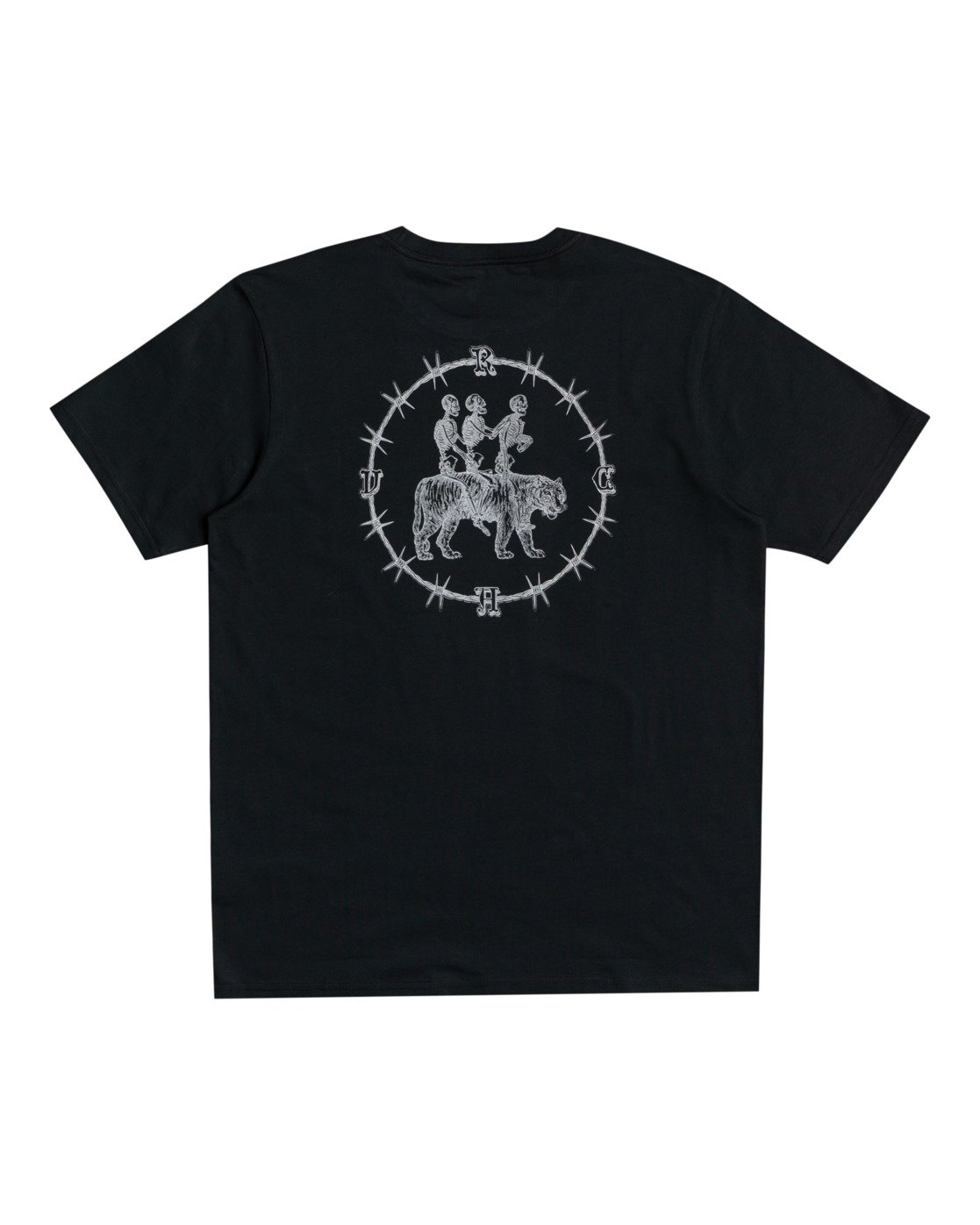 0 Benjamin Jeanjean Skeleton Walk - T-shirt pour Homme Noir W1SSRPRVP1 RVCA