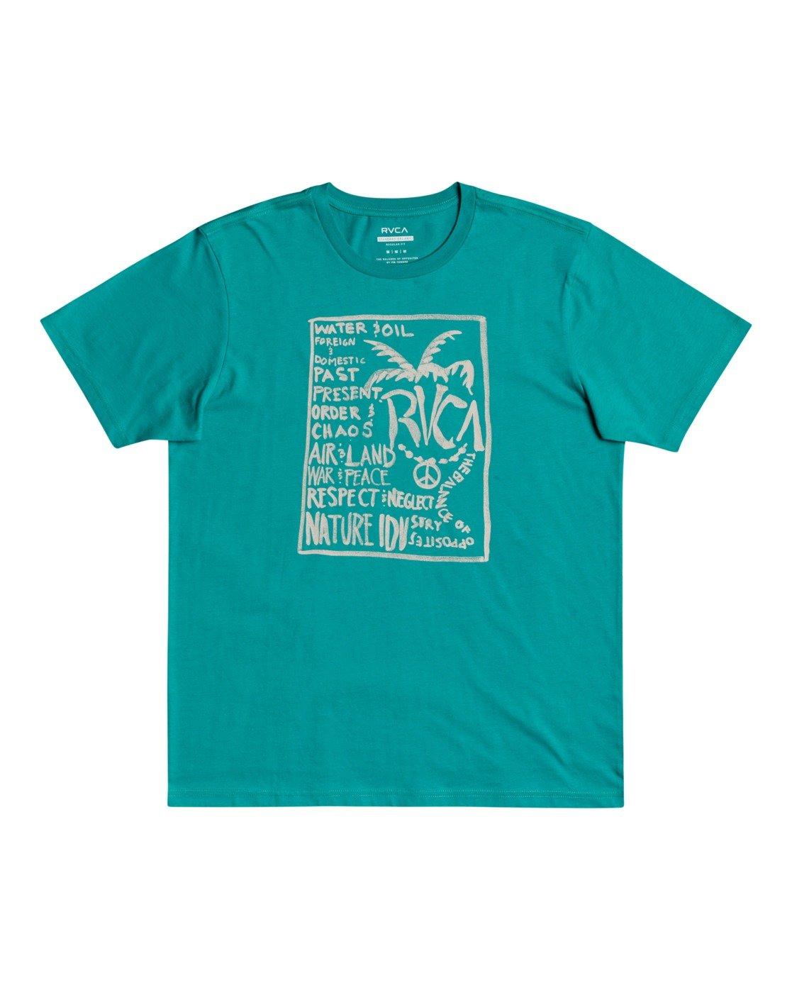 0 Vibes - T-Shirt for Men  W1SSRURVP1 RVCA