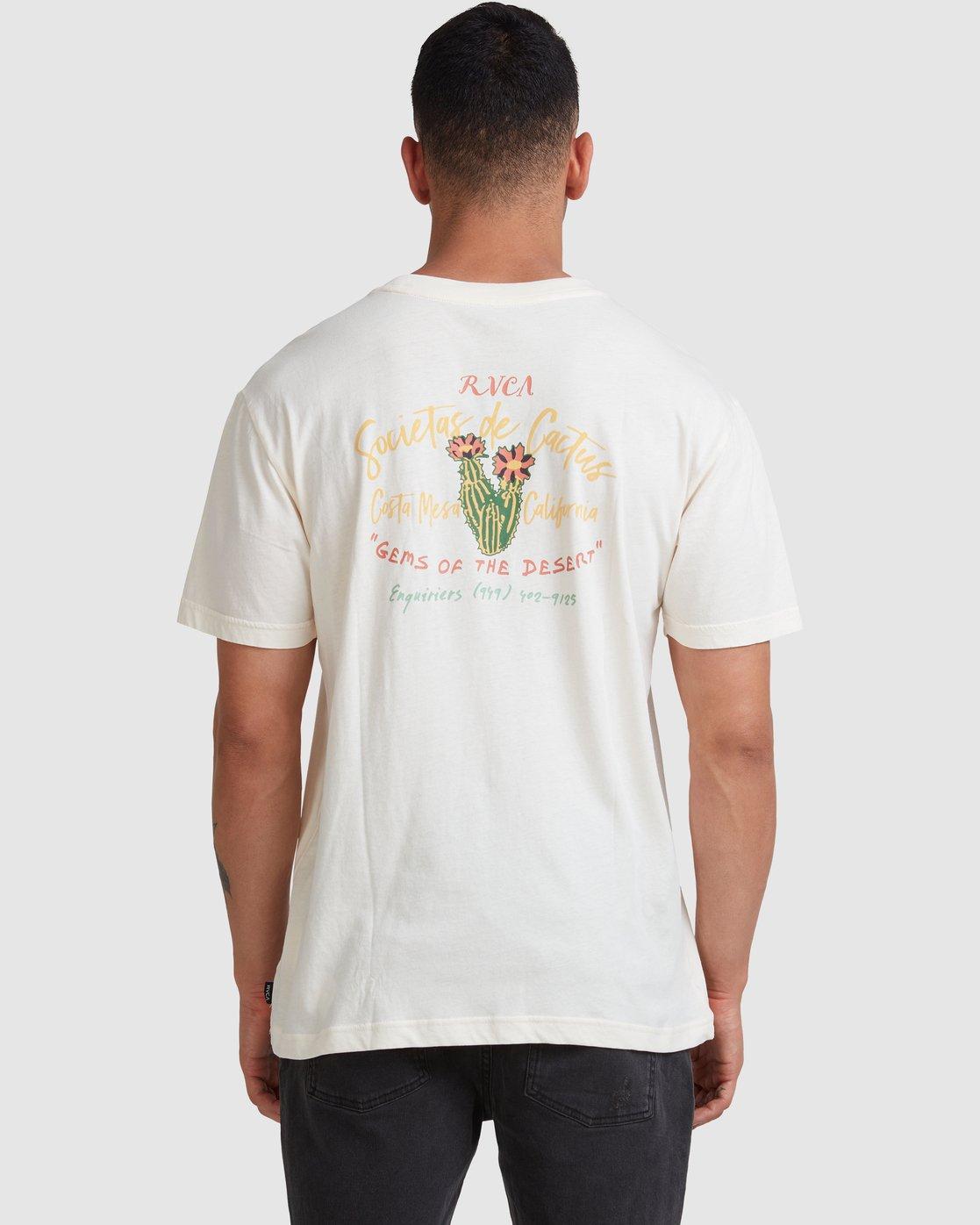 3 Societas - T-Shirt for Men  W1SSSKRVP1 RVCA