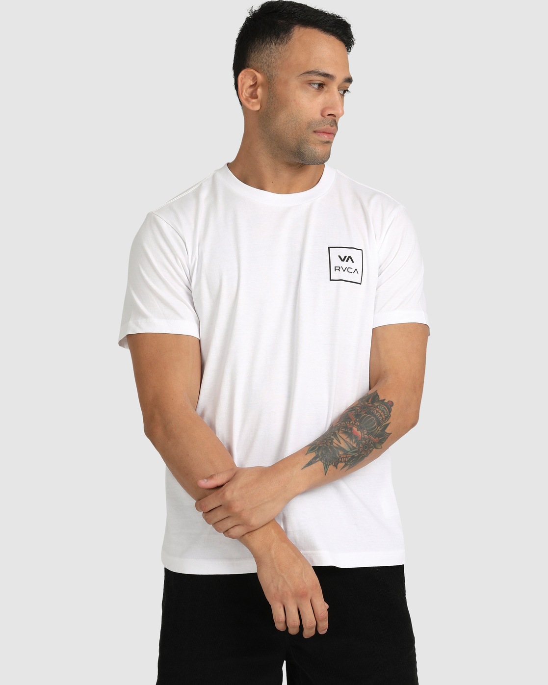 3 VA All The Ways - T-Shirt for Men White W1SSSLRVP1 RVCA