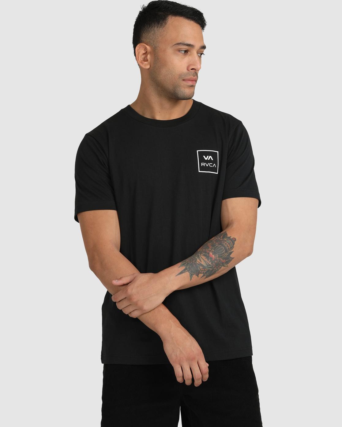 3 VA All The Ways - T-Shirt for Men Black W1SSSLRVP1 RVCA
